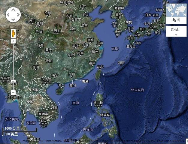 建议出版含海疆版中国地图[藏于名山论坛]